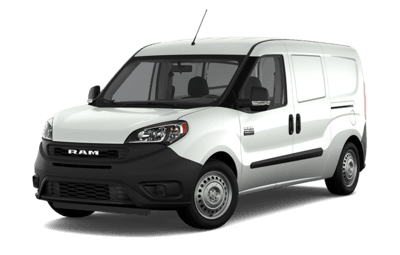 Front side view of Ram ProMaster City