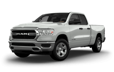 Front side view of Ram 1500 Tradesman