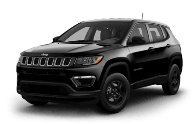 Front side view of Jeep Compass Sport