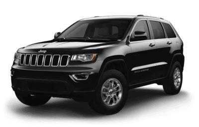 Front side view of Jeep Grand Cherokee Laredo