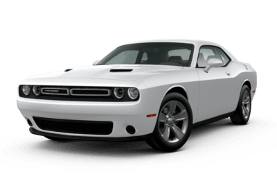 Front side view of Dodge Challenger SXT