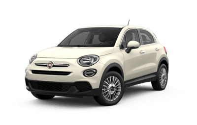 Front side view of Fiat 500X Pop